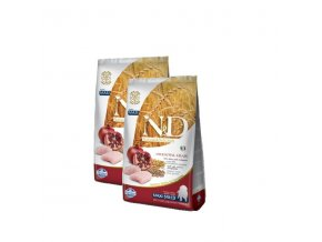 N&D Low Grain DOG Puppy Maxi Chicken & Pomegr 2x12kg