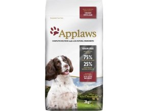 Applaws Dog Adult Small & Medium Breed Chicken & Lamb 2kg