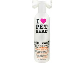 Pet head White Party - šampon na bílou srst 354ml