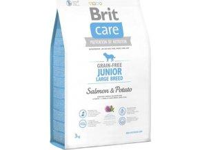 Brit Care Grain-free Junior LB Salmon & Potato 3kg