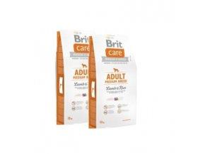 Brit Care Adult Medium Breed Lamb & Rice 2x12kg