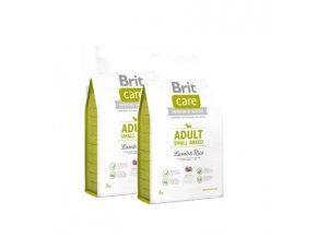 Brit Care Adult Small Breed Lamb & Rice 2x7,5kg