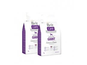 Brit Care Grain-free Giant Salmon & Potato 2x12kg
