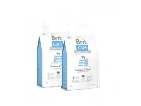 Brit Care Grain-free Junior LB Salmon & Potato 2x12kg