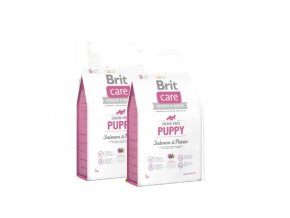 Brit Care Grain-free Puppy Salmon & Potato 2x12kg
