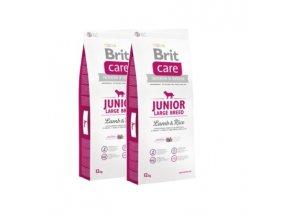 Brit Care Junior Large Breed Lamb & Rice 2x12kg