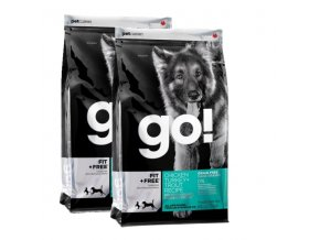PetCurean GO Fit + Free Grain Free 2x11,33g