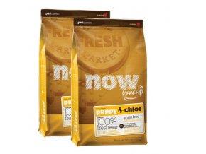 PetCurean NOW FRESH Grain Free Puppy 2x11,33kg