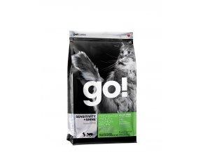 PetCurean GO Sensitive Shine Grain Free CAT Trout and Salmon 1,71kg