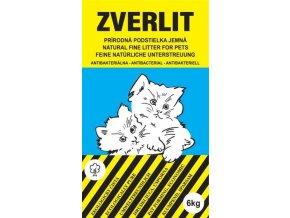 ZVERLIT modrý jemná Podestýlka kočka 6kg
