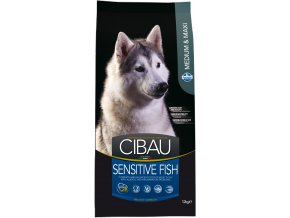 CIBAU Dog Adult Sensitive Fish&Rice 2x12kg