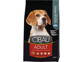 CIBAU Dog Adult Medium 2x12kg