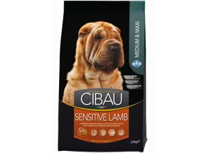 CIBAU Dog Adult Sensitive Lamb&Rice 2x12kg