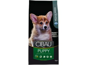 CIBAU Dog Puppy Medium 2x12kg