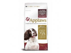 Applaws Dog Adult Small & Medium Breed Chicken & Lamb 2x7,5kg