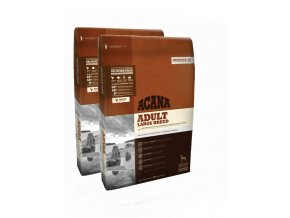 ACANA HERITAGE ADULT LARGE BREED 2x17kg