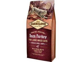 Carnilove Cat LB Duck&Turkey Muscles,Bones,Joints 6kg