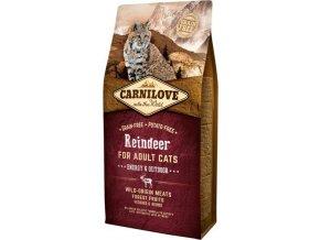 Carnilove Cat Reindeer for Adult Energy & Outdoor 6kg