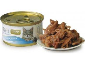 Brit Care Cat konz.tuňák & krocan 80g