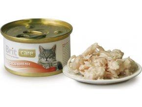 Brit Care Cat konz.kuřecí prsa 80g