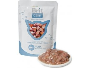 Brit Care Cat kapsa Tuna Pouch 80g
