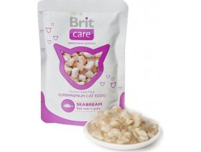 Brit Care Cat kapsa Seabream Pouch 80g