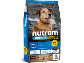 s6 nutram sound adult dog pro dospele psy