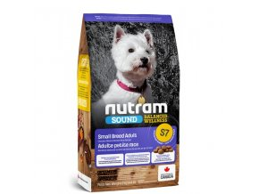 s6 nutram sound adult dog small breed pro dospele psy malych plemen