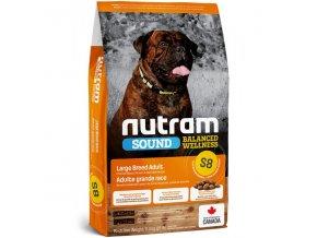 s8 nutram sound adult dog large breed pro dospele psy velkych plemen