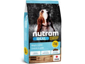 i18 nutram ideal weight control dog pro dospele psy kontrola vahy