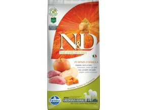 N&D Grain Free Pumpkin DOG Adult M/L Boar & Apple 12kg