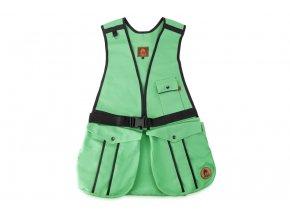 Firedog Dummy vesta Hunter světle zelená - bavlna