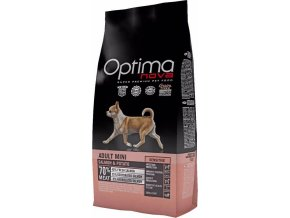 OPTIMAnova dog ADULT MINI SENSIT. GF Salmon 8kg