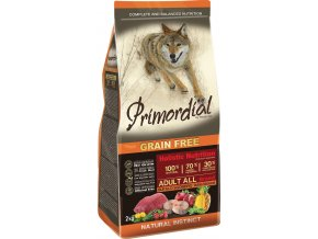 Primordial Adult Buffalo & Mackerel 2kg