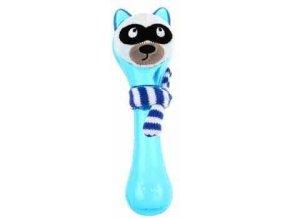GiGwi Plush Friendz Mýval se šálou - modrý