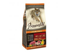 Primordial Adult Buffalo & Mackerel 2x12kg
