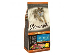 Primordial Adult Trout & Duck 2x12kg