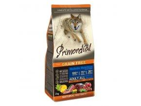 Primordial Adult Tuna & Lamb 2x12kg