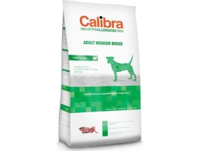 Calibra Dog HA Adult Medium Breed Lamb 3kg NEW