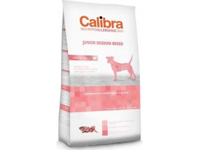 Calibra Dog HA Junior Medium Breed Lamb  3kg NEW  3 + 1 zdarma! Platí do vyprodání zásob.