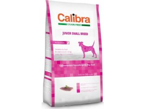 Calibra Dog GF Junior Small Breed Duck 2kg NEW  + 1x pamlsky Calibra Joy 80g