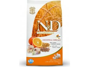 N&D Low Grain DOG Adult Mini Codfish & Orange 7kg