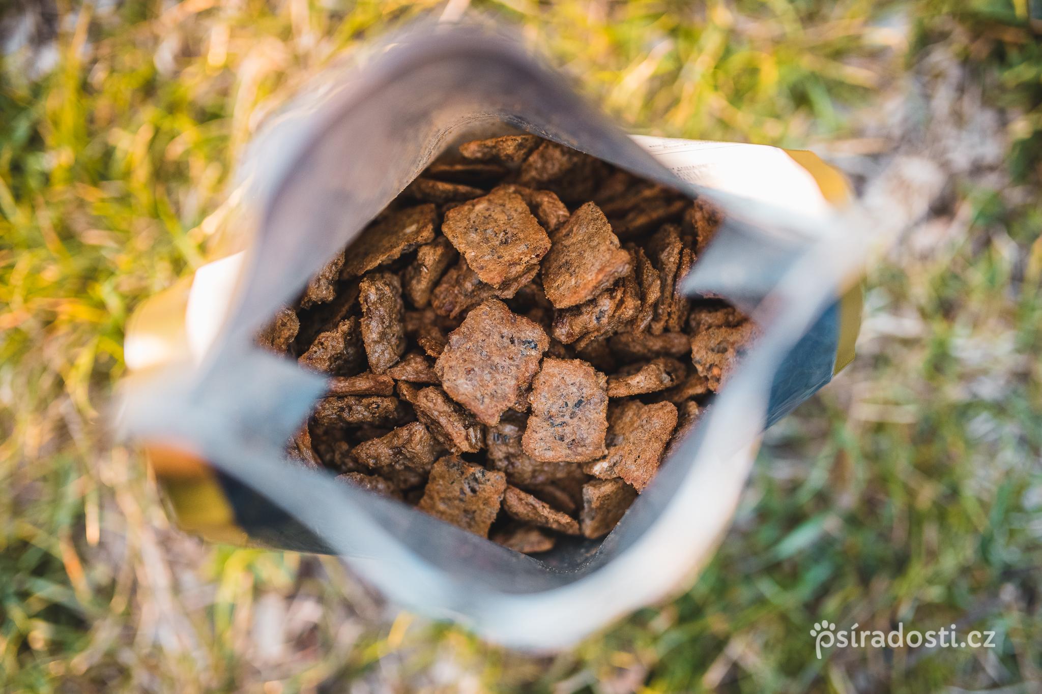 Kronch Treat s lososovým olejem 100% bez lepku 600g