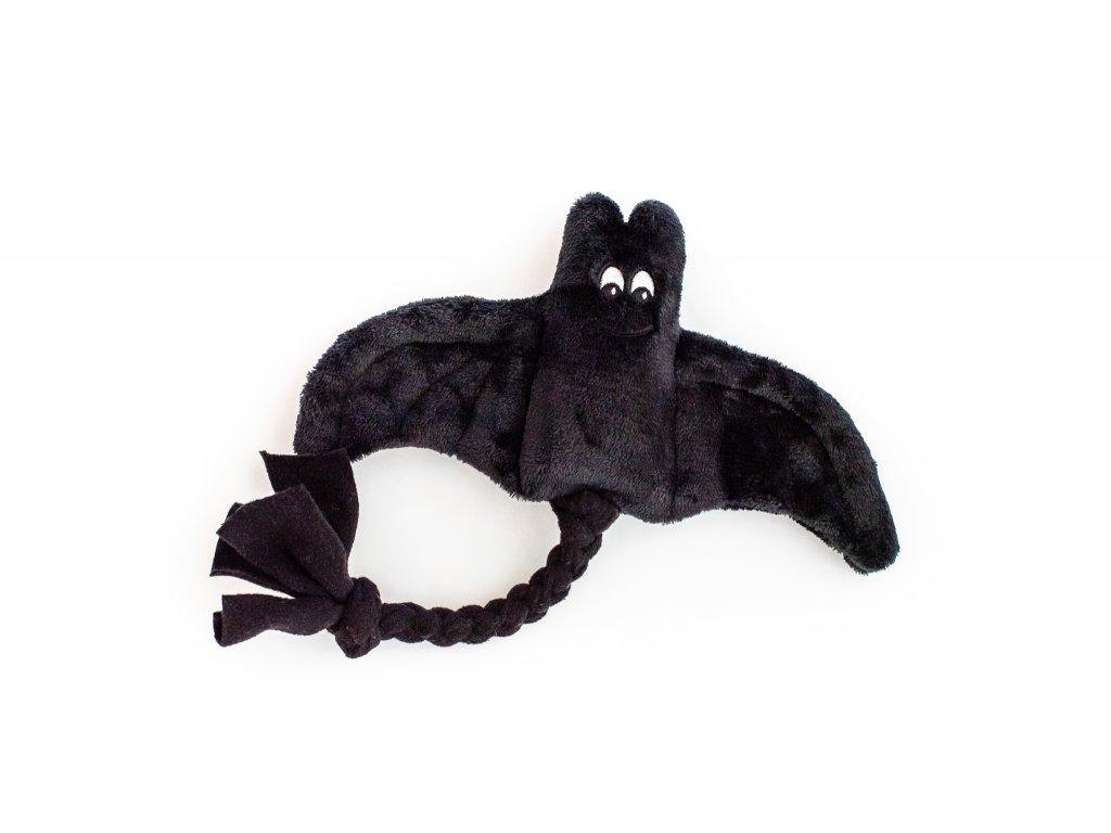 Plyšový netopýr malý černý