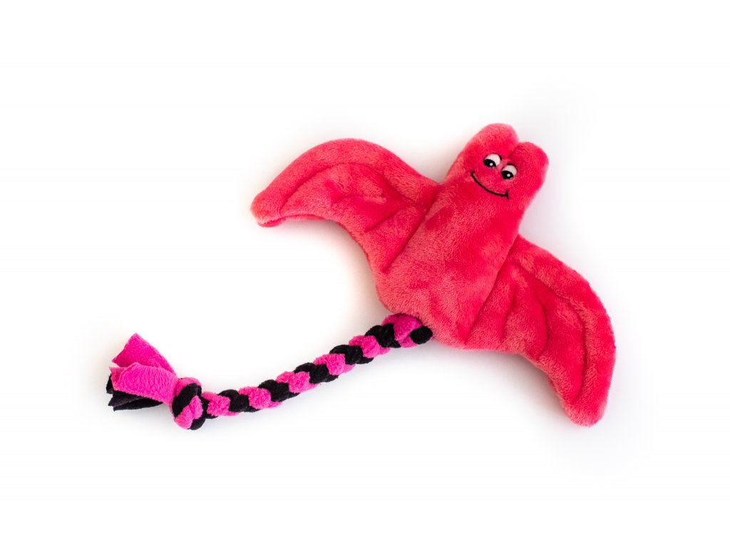 Plyšový netopýr malý růžový