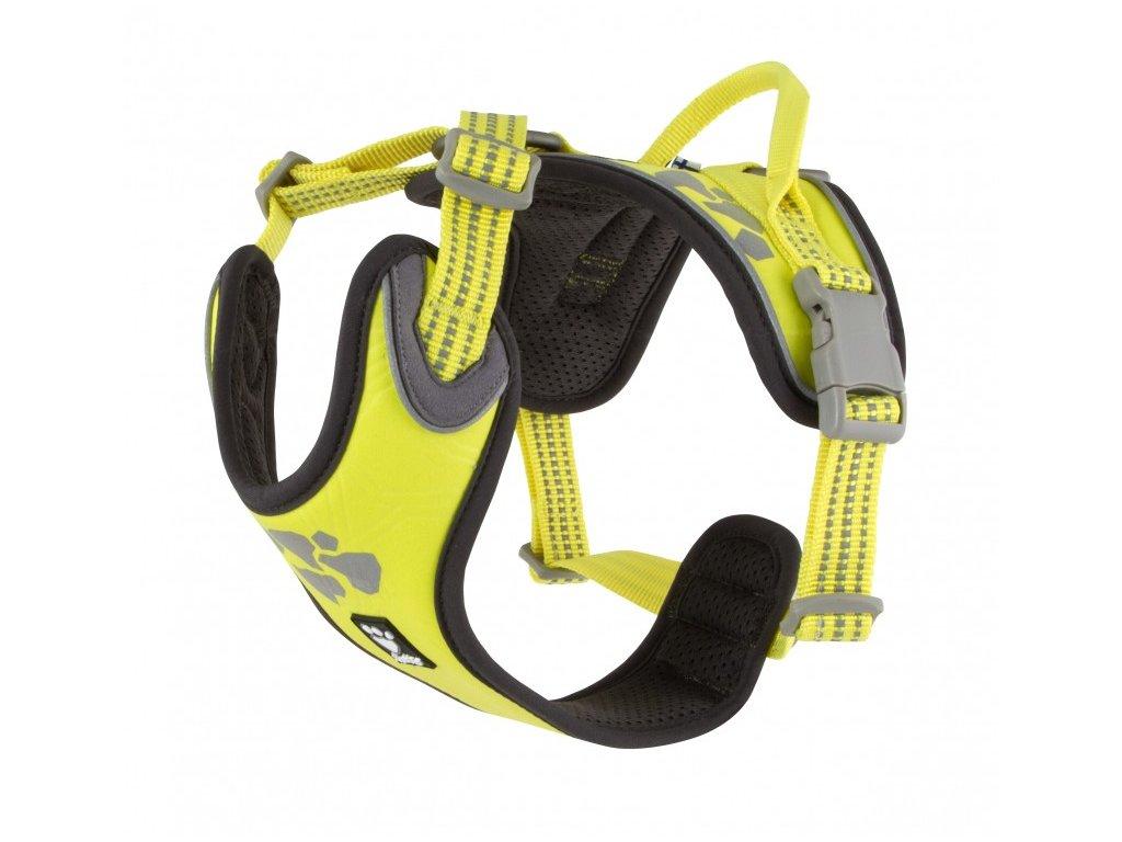 Postroj Hurtta Weekend Warrior neon citrónový