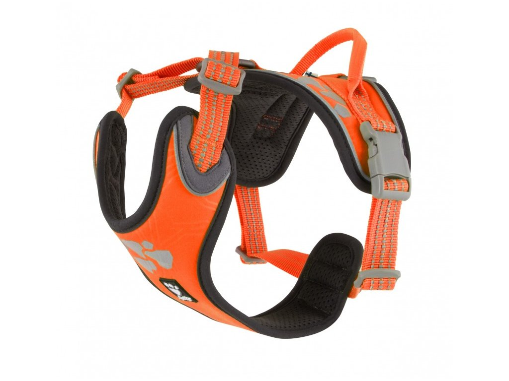 hurtta weekend warrior harness neon orange 5