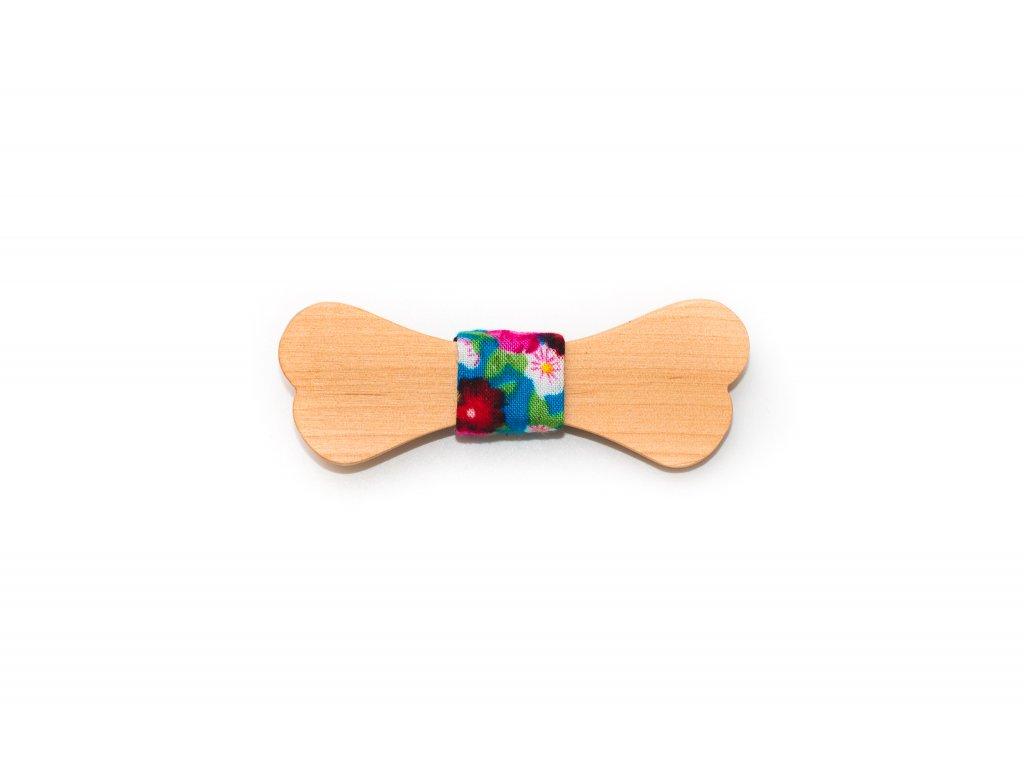 Dřevěný motýlek Aranka 8 cm