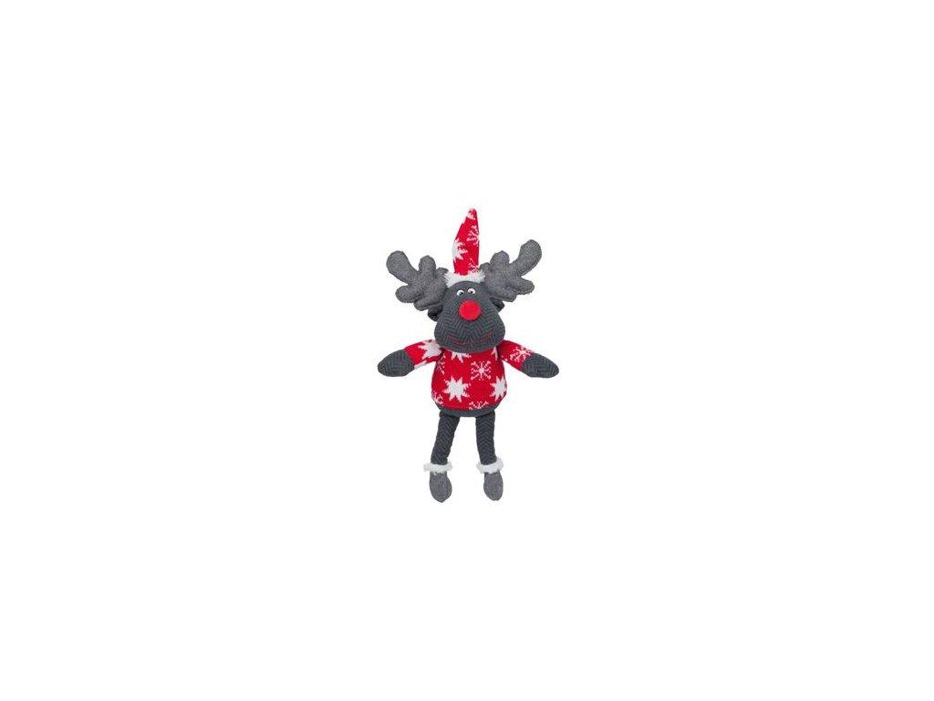 Vánoční Hračka Sob hnědý 42cm TR 1ks