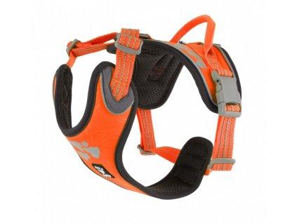 hurtta weekend warrior harness neon orange 5